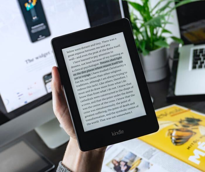 kindle by amazon also played significant role in the success of amazon digital marketing