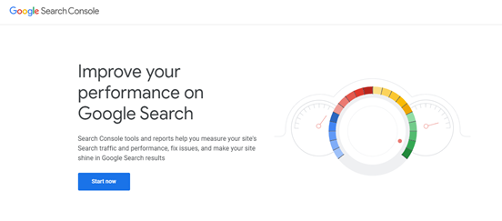 Search console tool for vital update.
